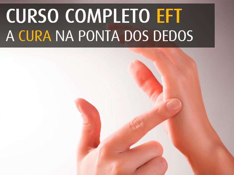 Curso Completo EFT - A Cura na ponta dos dedos - agenda